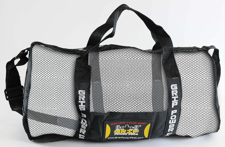 Grip Power Pads Mesh Gear Bag Multipurpose Boxing Beach Scuba Diving & More Adjustable Strap