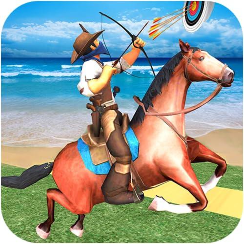 Horse Archery and Derby Challenge- El mejor caballo montado Archery montado juegos de caballos