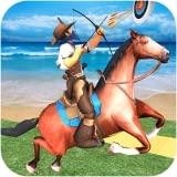 Horse Archery and Derby Challenge- Best Horse back Mounted Archery Horse Games