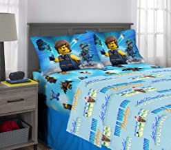 Franco Kids Bedding Super Soft Sheet Set, 4 Piece Full Size, Lego Movie 2