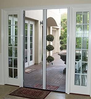 Casper Retractable Double Door Screen (Brown)