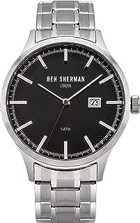 WB056BSM Mens Spitalfields Sport Silver Steel Bracelet Watch