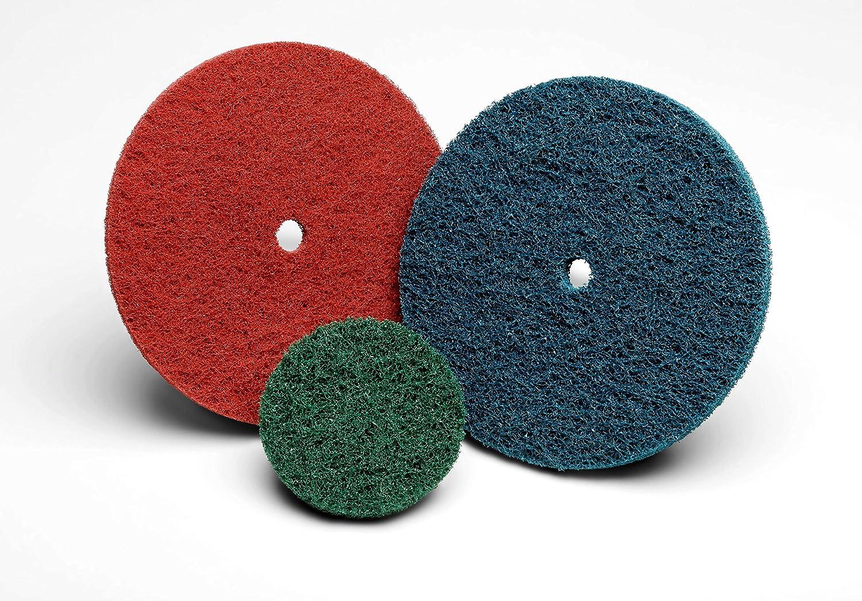 "New Med A//O Buff H//S Pack Of 10 Standard Abrasives 810710 6"" Buff /& Blend Disc"