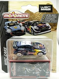 Ford Fiesta WRC 2019 Blue 1/64 Diecast Car Scale Model - Real Scale 1/57 MJ Ref# 201E - Wheel RT10SW - Free Display Case