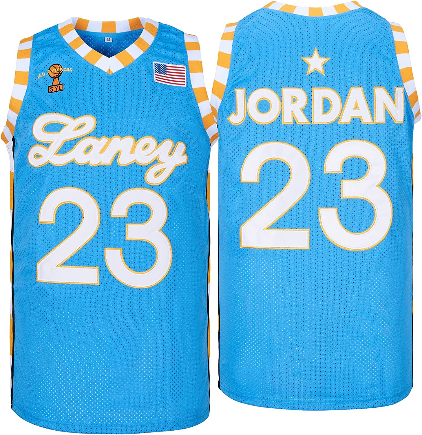 Men's Laney College #23 NEW High Basketball Stitched Mail order Jersey School