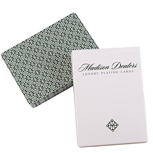 Madison Dealer Marked Magic Playing Cards - Erdnase Green by Ellusionist jeu de cartes marqué Playing Cards magie Cartes à jouer