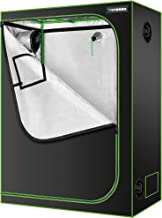 """VIVOSUN 48""""x24""""x60"""" Hydroponic Mylar Grow Tent with Observation Window and Floor Tray for Indoor Plant Growing - 4' x 2'"""