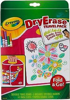 Crayola 988662 Fold & Go Dry Erase Travel Pack