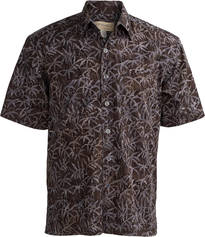 Johari West Moonlight Forest Tropical Hawaiian Batik Shirt