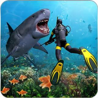Angry Shark Attack Deep Sea Shark Hunter Games