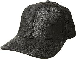 Collection XIIX - Metallic Suede Baseball Hat