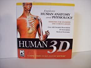 Human 3D Explore Human Anatomy and Physiology CD-ROM