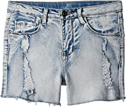 People's Project LA Kids - Jazz Denim Shorts (Big Kids)