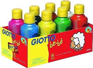 Omyacolor-Gouache Giotto Bebe - Lot De 8 Flacons De 250ml [Jouet]