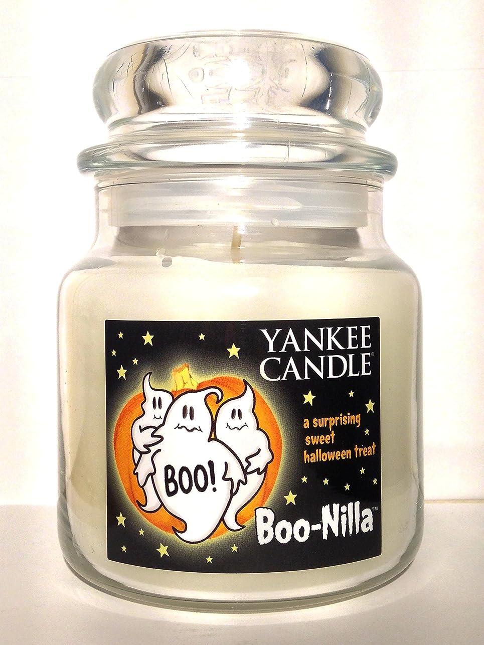 ベンチ等民間Yankee Candle boo-nilla Boonilla Vanilla Marshmallow香りHalloween Candle