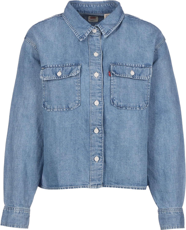 Levis® Olsen Utility Camisa de Manga Larga: Amazon.es: Ropa