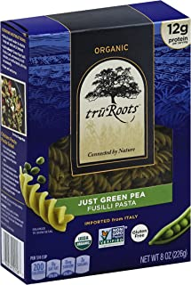 truRoots Organic Just Green Pea Fusilli Pasta, 6 Count