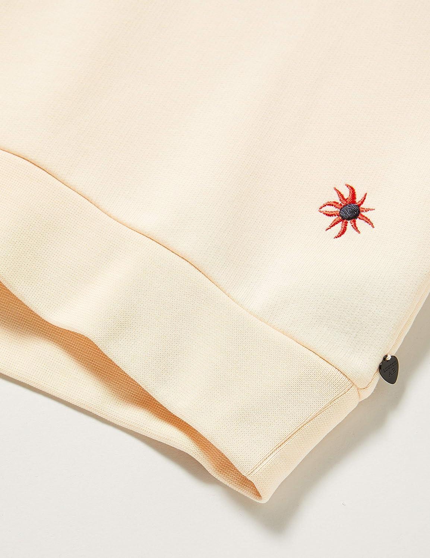 Scotch /& Soda Allover Printed Crew Neck Sweat with Shorter Balloon Sleeves Sudadera para Ni/ñas