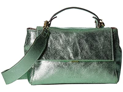 NEUVILLE Rio Satchel (Mint Metal) Handbags