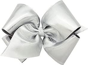 Wee Ones Metallic Overlay Girl's Hair Bow