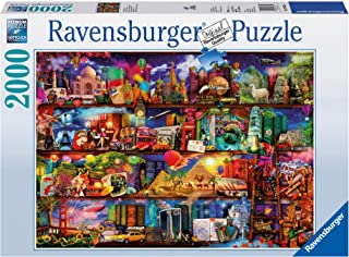 Ravensburger 16685 World of Books Aimee Stewart,Adult Puzzles