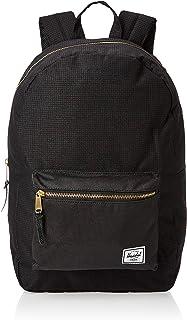 Herschel Settlement Backpack, Dark Grid/Black, One Size
