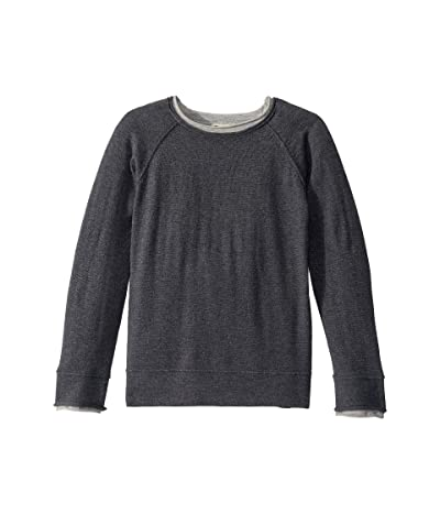 Appaman Kids Jackson Roll Neck Sweater (Toddler/Little Kids/Big Kids) (Grey Heather) Boy