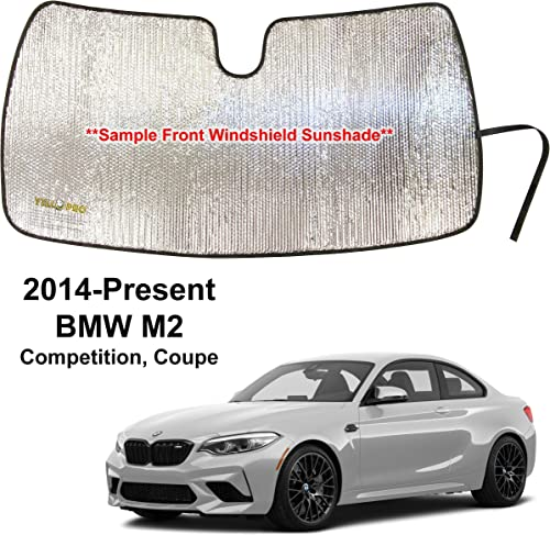 new arrival YelloPro Custom Fit Reflective new arrival Front Windshield 2021 Sunshade Accessories UV Reflector Sun Protection for 2014 2015 2016 2017 2018 2019 2020 2021 BMW M2 Competition Coupe outlet sale