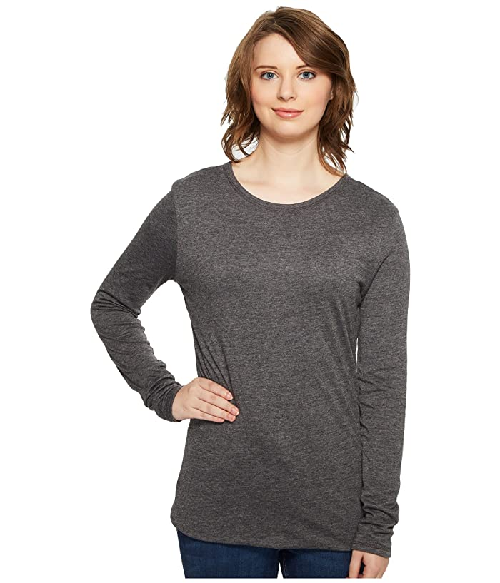 4Ward Clothing  Four-Way Reversible Scoop Long Sleeve Jersey Top (Charcoal/Navy) Girls Clothing