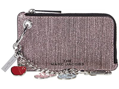 Marc Jacobs Glitter Stripe Goodies Coin Purse (Pink) Clutch Handbags