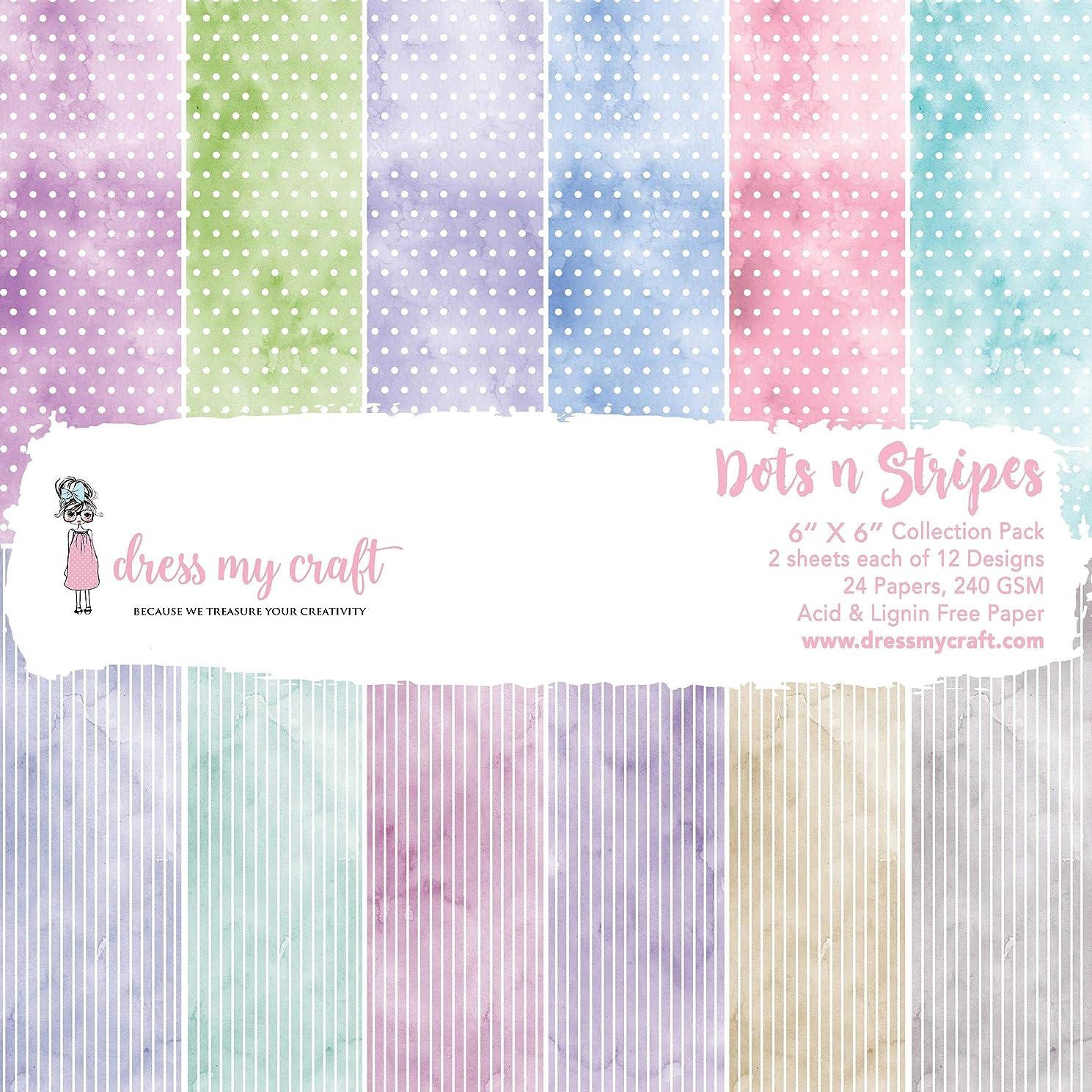 Dress My Craft Single-Sided Paper Pad 6