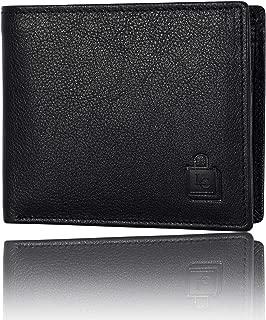 Le Craf Men's Aaron Black Leather Wallet