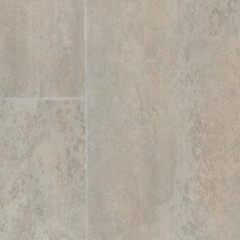 300 und 400 cm Breite Vinylboden PVC Bodenbelag Variante: 4,5 x 3m 200 Meterware Fliesenoptik Retro diagonal grau beige