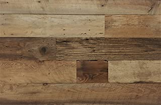 Best rustic reclaimed wood wall Reviews