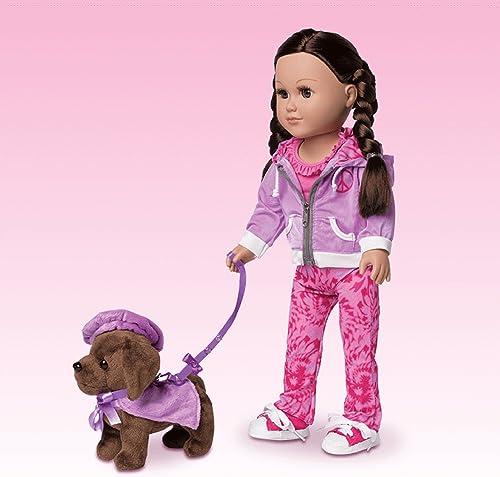 comprar marca My Life As 4 Piece Cape Leash Set - púrpura púrpura púrpura (Doll Not Included) by myLife Brand Products  diseñador en linea