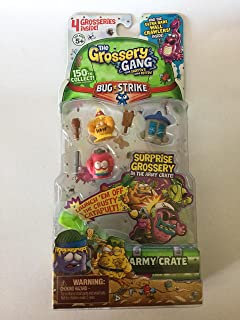 Grossery Gang The S4 Bug Strike 4 Pack - Style 3