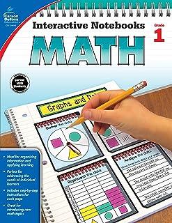 Carson Dellosa Math Interactive Notebook, Grade 1 (Interactive Notebooks)
