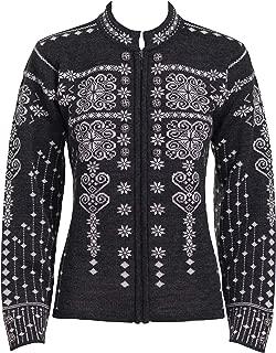 Norlender Women's 100% Norwegian Wool Maud Sweater w/Free 100% Wool Ski Cap