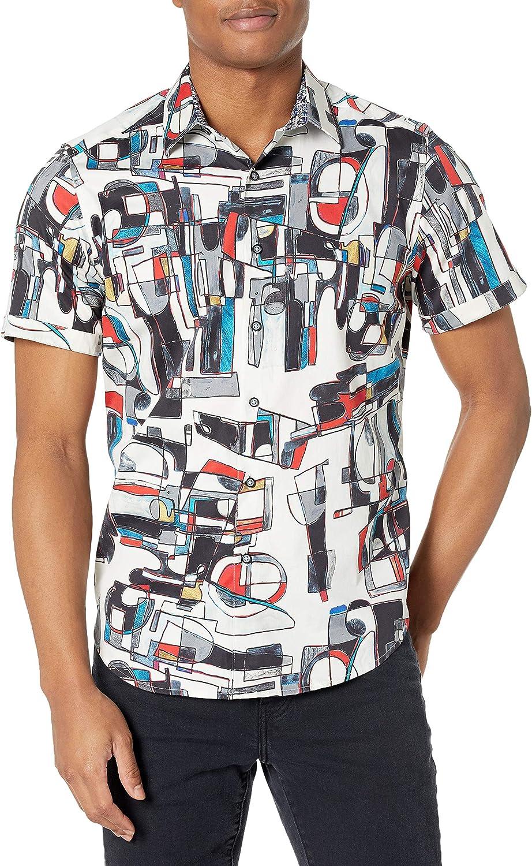 Robert Graham Men's The Zinger S/S Woven Shirt
