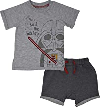 Star Wars Infant Baby Boys Short Sleeve T-Shirt & Shorts Clothing Set