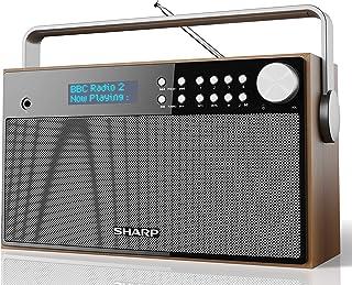 comprar comparacion Sharp DR-P355 Radio despertador Digital Estéreo Dab/Dab+ y Fm con Rds, Alarma con Función despertador y Repetición, Carcas...