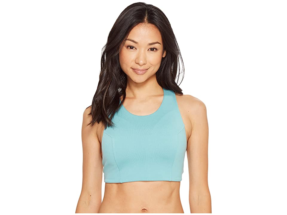The North Face Beyond the Wall Free Motion Bra (Bristol Blue) Women