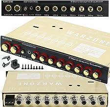 Warzone EQ6700 1/2 Din 7 Band Car Audio Equalizer EQ...