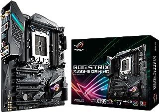 Asus ROG STRIX X399-E GAMING AMD TR4 X399 EATX - Placa base gaming Aura Sync RGB iluminación LED, 802.11ac Wi-Fi, DDR4 3600MHz, Dual M.2, SATA 6Gbps y a USB 3.1 Gen 2 conector panel frontal