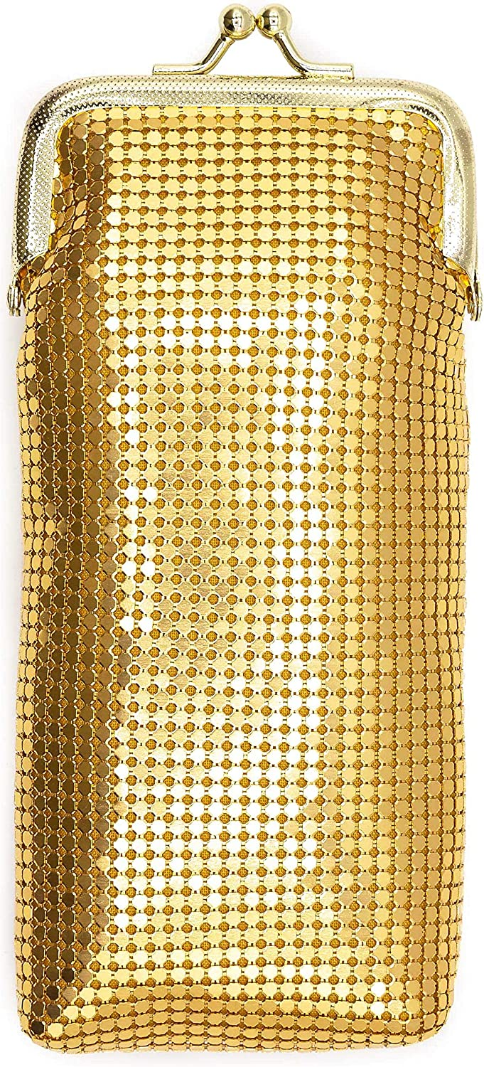 Gold Vintage Luxuriant Soft Daily bargain sale 3mm Metallic Fort Worth Mall Pack Full Mesh 100s or