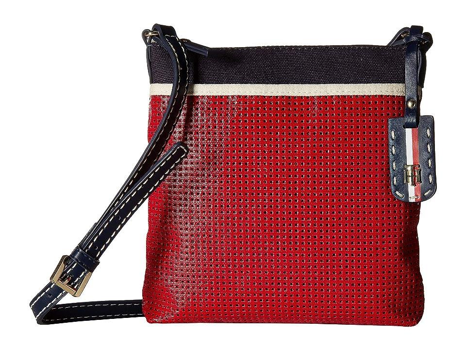 Tommy Hilfiger Julia Novelty Crossbody (Navy/Red) Handbags
