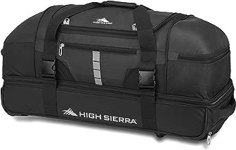 High Sierra Evolution Wheeled Drop Bottom Duffel Bag, 30