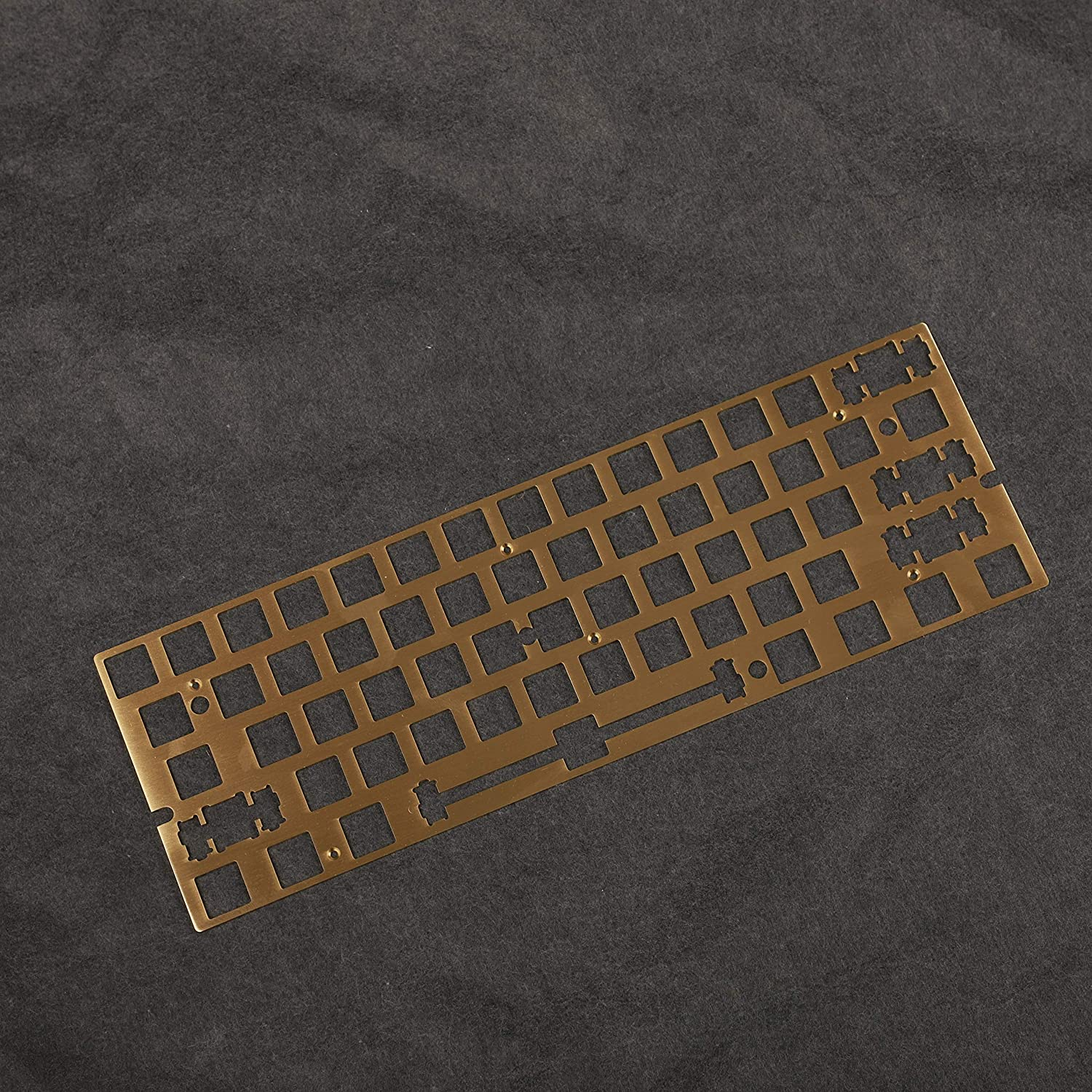 GK61x Brass Plate for 60% Keyboards