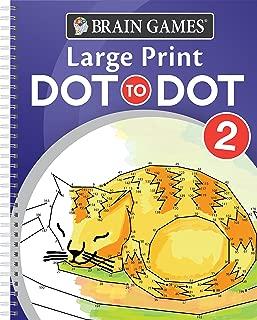 Brain Games - Large Print Dot-To-Dot 2