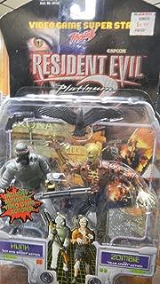 Resident Evil Platinum 2 Figurines Hunk & Zombie by Capcom
